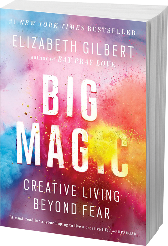 BIG MAGIC AVAILABLE NOW IN PAPERBACK