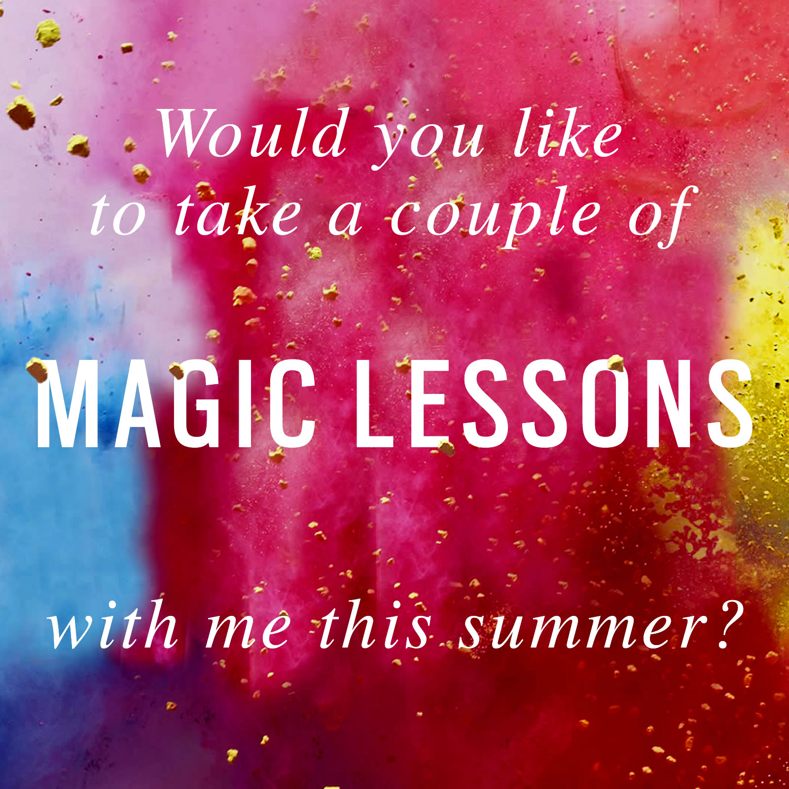Magic Lessons | Official Website for Best Selling Author Elizabeth ...
